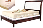 Biologic Memory Foam Mattress by Le Vele
