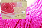 Rose Fleece Blanket by Le Vele