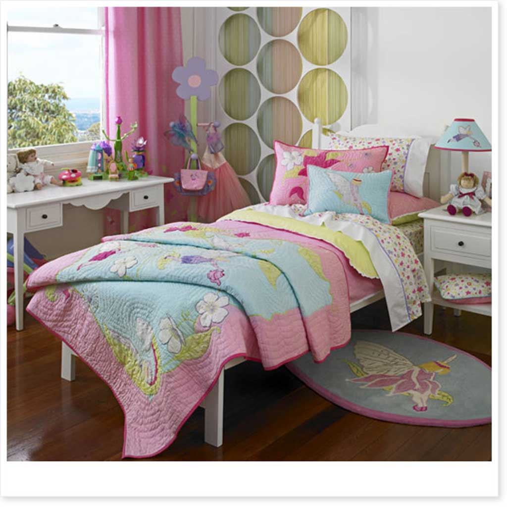 A Beautiful Bedroom Fairy Garden By Freckles Bedding For Kids Duvet Covers