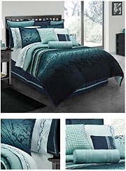 A Beautiful Bedroom Blue Moon By Lawrence Home Fashion